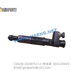 ,860134898 C26AB-26AB701+A INJECTOR