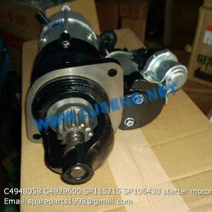 C4948058,Starting Motor,4948058 SHANTUI Starting Motor C4948058
