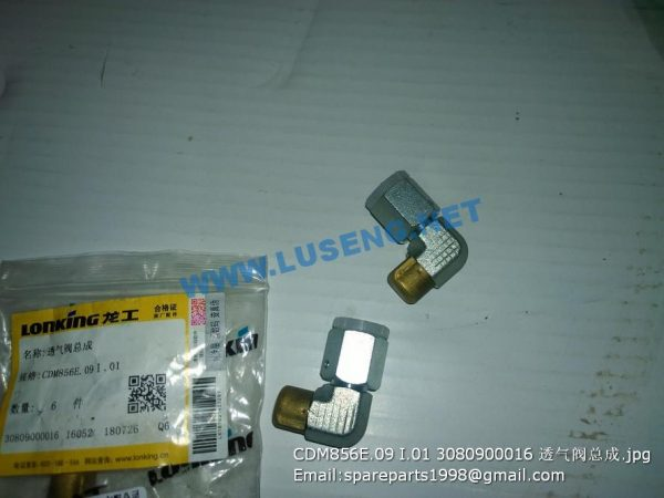 ,CDM856E.09 I.01 3080900016 valve