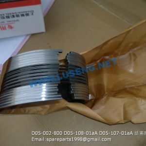 ,D05-002-800 D05-108-01aA D05-107-01aA PISTON RING SHANGCHAI