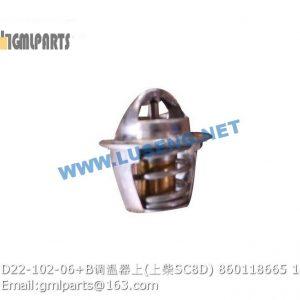 ,860118665 D22-102-06+B thermostat SC8D