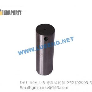 ,252102093 DA1180A.1-6 PLANET GEAR SHAFT