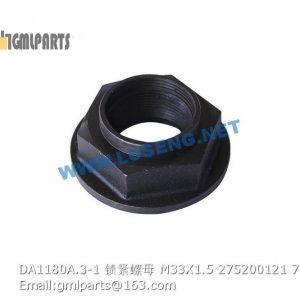 ,275200121 DA1180A.3-1 LOCK NUT M33X1.5