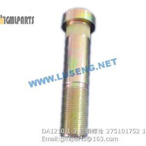 ,275101752 DA1210.1-3 RIM BOLT