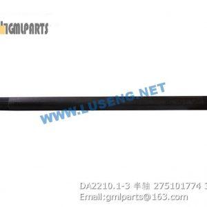,275101774 DA2210.1-3 HALF SHAFT XCMG