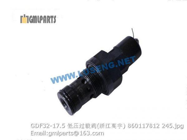 ,860117812 GDF32-17.5 over loading valve