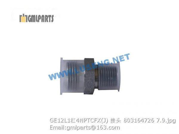 ,803164726 GE12L1/4NPTCFX(J) JOINT