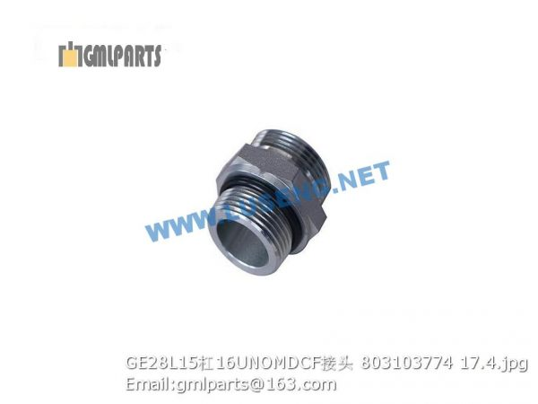 ,803103774 GE28L15/16UNOMDCF JOINT XCMG