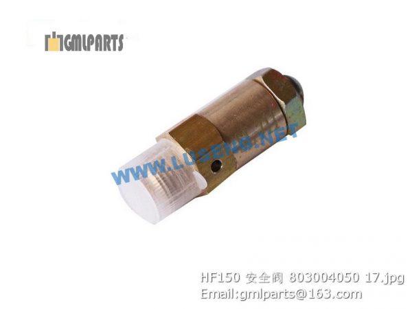 ,803004050 HF150 safety valve xcmg