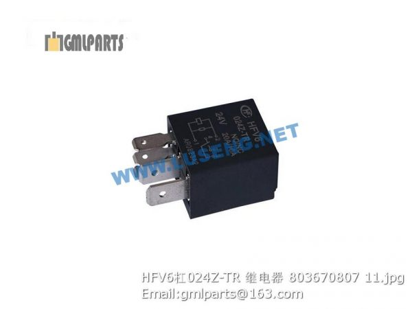 ,803670807 HFV6/024Z-TR relay xcmg