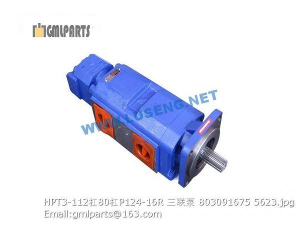 ,803091675 HPT3-112/80/P124-16R XCMG PUMP