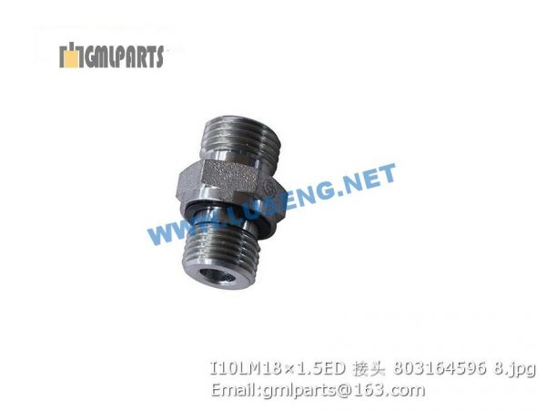 ,803164596 I10LM18×1.5ED JOINT XCMG