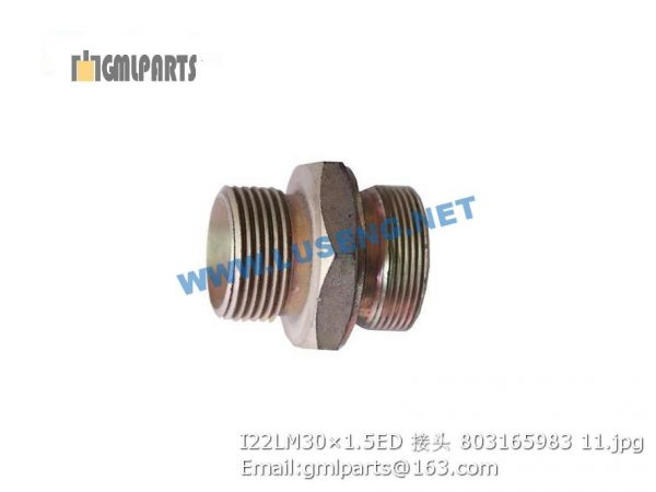 ,803165983 I22LM30×1.5ED JOINT XCMG