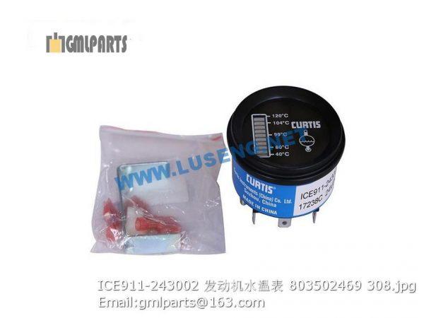 ,803502469 ICE911-243002 Engine Water Temperature Meter