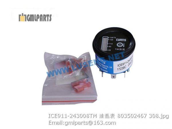 ,803502467 ICE911-243008TM T/M Oil Temperature Meter