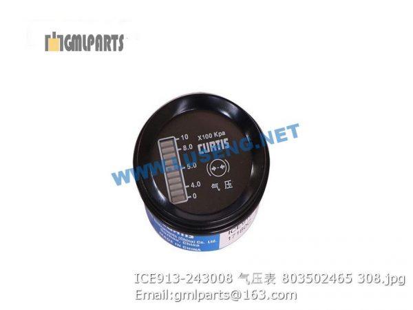 ,803502465 ICE913-243008 Air Pressure Meter