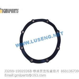 ,860136739 J3200-1002036B gasket for fuel injection pump