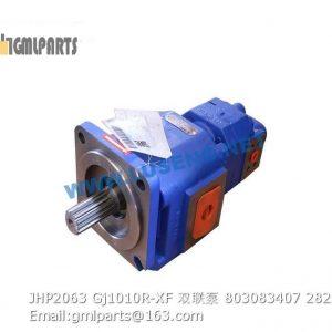 ,803083407 JHP2063/Gj1010R-XF GEAR PUMP