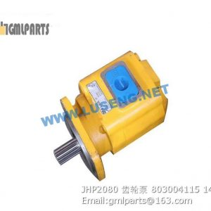 ,803004115 JHP2080 GEAR PUMP XCMG LW500FN