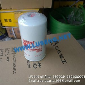 LF3349,Element' Oil Filter,SHANTUI Element Oil Filter LF3349