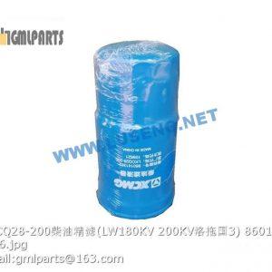 ,860141362 LKCQ28-200 FUEL FILTER LW180KV LW200KV