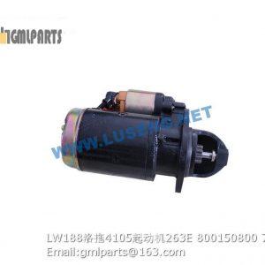 ,800150800 LW188K YTO 4105 STARTER MOTOR QDJ263E