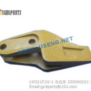 ,250900263 LW321F.26-1 BUCKET TOOTH R