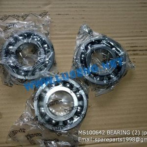 LIUGONG SPARE PARTS,MS100642,BALL BEARING,MS100642 BALL BEARING LIUGONG SPARE PARTS