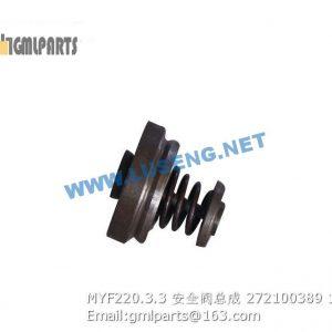 ,272100389 MYF220.3.3 Group-safety valve