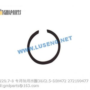 ,272100477 MYF220.7-8 Snap Ring 38X2.5-DIN472