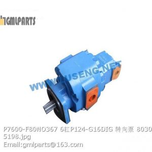 ,803004109 P7600-F80NO367 6/P124-G16DIG STEERING PUMP XCMG
