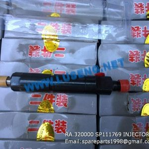 LIUGONG SPARE PARTS,SP111769,Fuel injector assy,SP111769 Fuel injector assy LIUGONG SPARE PARTS RA.320000
