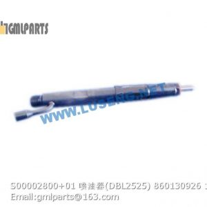 ,860130926 S00002800+01 INJECTOR DBL2525