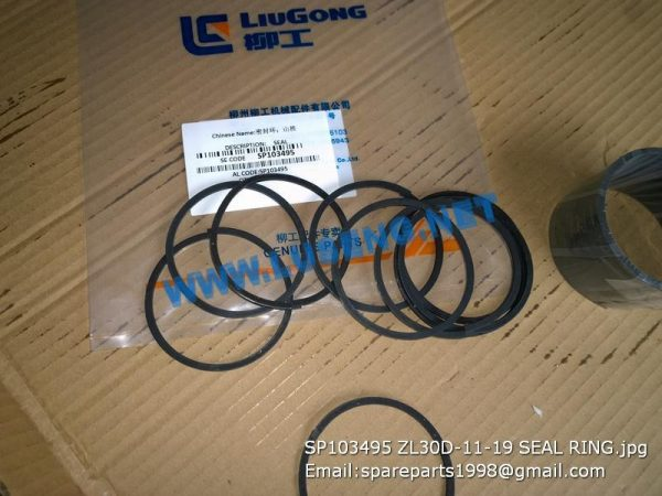 LIUGONG SPARE PARTS,SP103495,SEAL,SP103495 SEAL LIUGONG SPARE PARTS ZL30D-11-19
