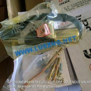 LIUGONG SPARE PARTS,SP105060,FUEL CUT-OFF SOLENOID VALVE,SP105060 FUEL CUT-OFF SOLENOID VALVE LIUGONG SPARE PARTS 4942879