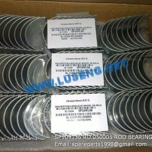 LIUGONG SPARE PARTS,SP109136,ROD BEARING,SP109136 ROD BEARING LIUGONG SPARE PARTS RD.050005
