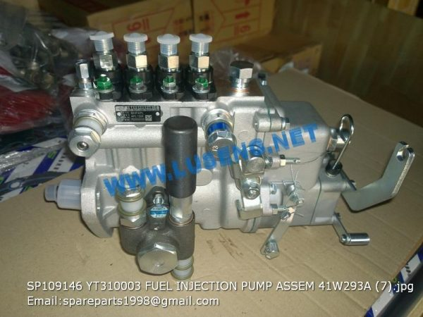 LIUGONG SPARE PARTS,SP109146,FUEL INJECTION PUMP ASSEM.41W293A,SP109146 FUEL INJECTION PUMP ASSEM.41W293A LIUGONG SPARE PARTS YT310003