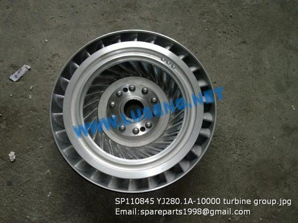 LIUGONG SPARE PARTS,SP110845,TURBINE,SP110845 TURBINE LIUGONG SPARE PARTS YJ280.1A-10000