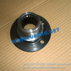 LIUGONG SPARE PARTS,SP110858,OUTPUT FLANGE,SP110858 OUTPUT FLANGE LIUGONG SPARE PARTS YJ315D-00020B