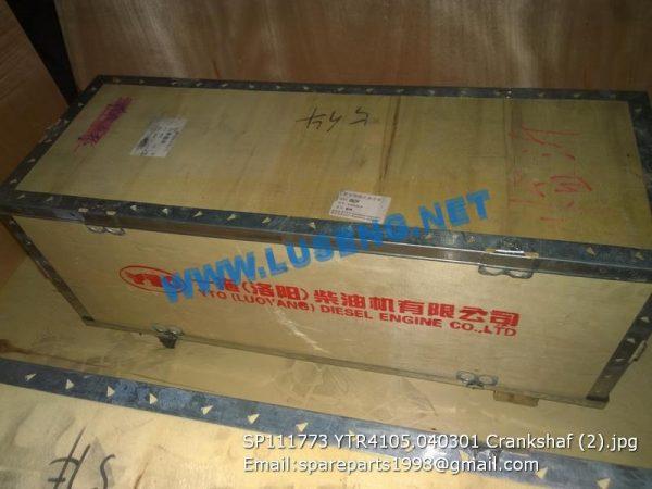 LIUGONG SPARE PARTS,SP111773,Crankshaf,SP111773 Crankshaf LIUGONG SPARE PARTS YTR4105.040301