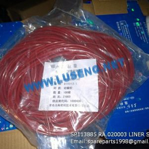 LIUGONG SPARE PARTS,SP113885,LINER WATER SEAL,SP113885 LINER WATER SEAL LIUGONG SPARE PARTS RA.020003
