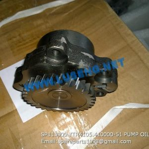 LIUGONG SPARE PARTS,SP113909,PUMP OIL,SP113909 PUMP OIL LIUGONG SPARE PARTS YTR4105.410000-51