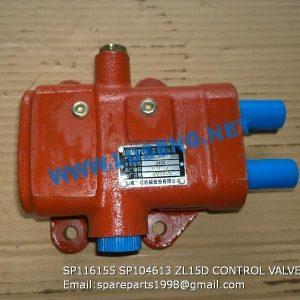 LIUGONG SPARE PARTS,SP104613,TRANSMISSION CONTROL VALVE,SP104613 TRANSMISSION CONTROL VALVE LIUGONG SPARE PARTS SP116155 ZL15D