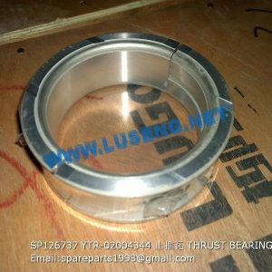 LIUGONG SPARE PARTS,SP126737,THRUST BEARING,SP126737 THRUST BEARING LIUGONG SPARE PARTS YTR-020043/44