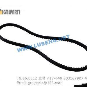 ,803587987 T0.86.0112 AC belt A17-440