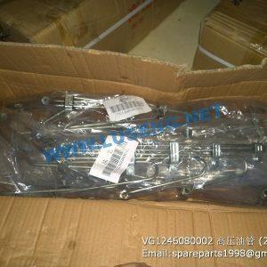 ,VG1246080002 SINOTRUCK HIGH PRESSURE HOSE