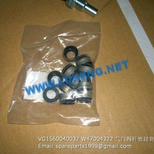 ,VG1560040032 W47004322 VALVE SEAL SINOTRUCK ENGINE PARTS