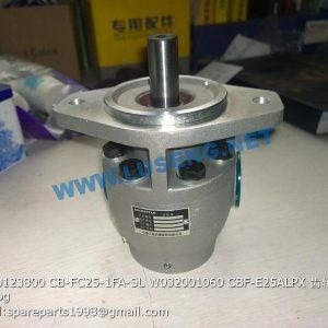 ,W030123800 CB-FC25-1FA-SL W032001060 CBF-E25ALPX GEAR PUMP