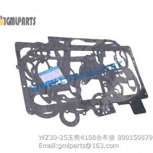 ,800150879 WZ30-25 YUCHAI 4108 REPAIR KITS