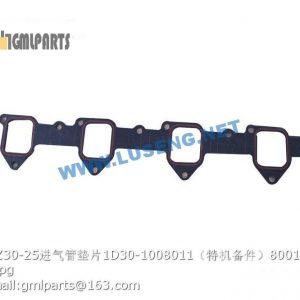 ,800150899 WZ30-25 INTAKE PIPE GASKET 1D30-1008011